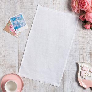 Полотенце вафельное Доляна 30*45± 3 см, цв. белый, 100% хлопок, 200 гр/м2 5077406