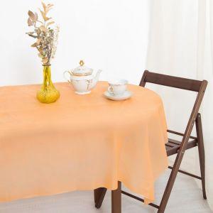 Скатерть для дачи Хозяюшка Радуга, цвет апельсин 137?274 см