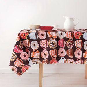 Скатерть «Доляна» Пончики 140?180 см, 100% п/э