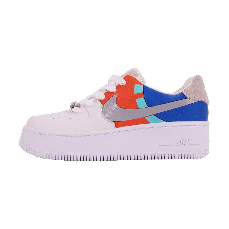 Кроссовки Nike Air Force 1 Sage Low LX White белые