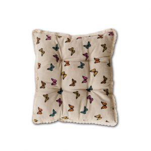 "Подушка для стула Valtery (арт.2) ""Бабочка маленькая"""