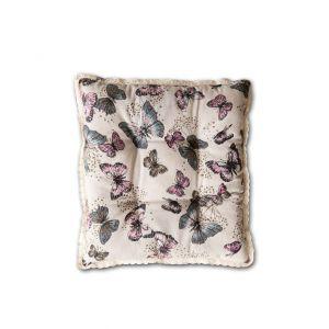 "Подушка для стула Valtery (арт.1) ""Бабочка большая"""