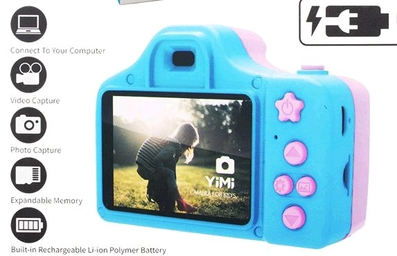 Детский фотоаппарат на аккумуляторах (QF928)