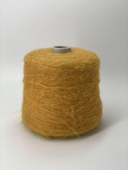 Толстый суперкидмохер Pecci filati Apple цвет желтый