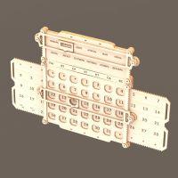 Календарь из фанеры вечный механический