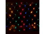 Гирлянда электрическая сетка-рис, 2,10 x 1,40, 320 ламп, цветная, с контроллером