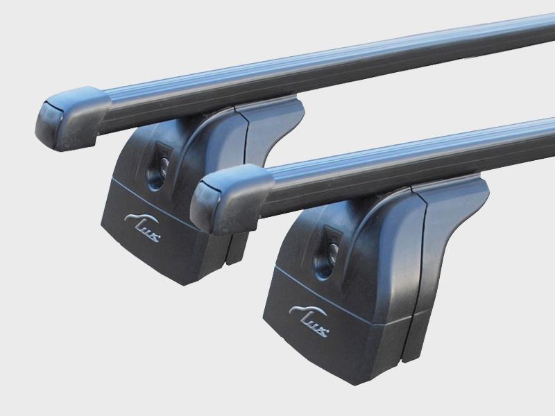 Багажник на крышу Haval H5 2020-..., Lux, стальные прямоугольные дуги