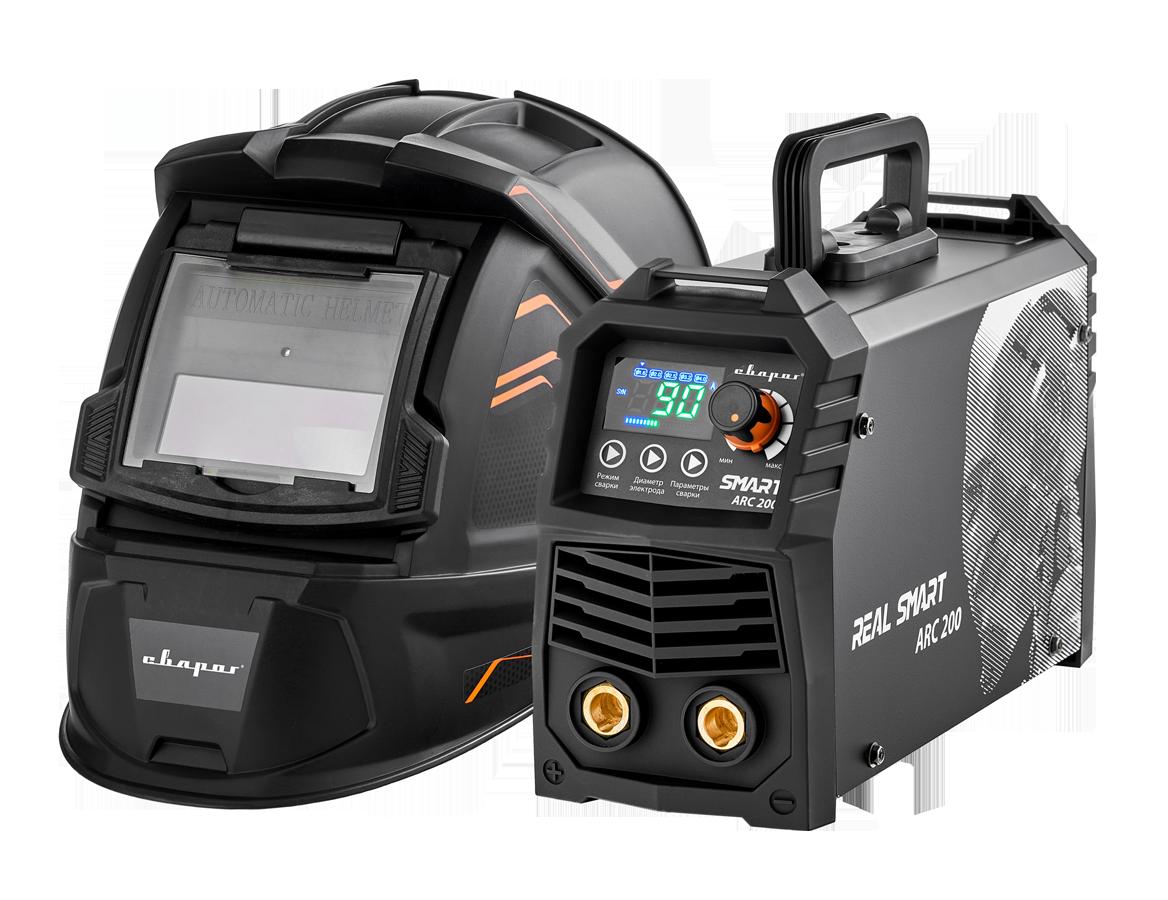 Сварочный инвертор SMART ARC 200 BLACK (Z28303)