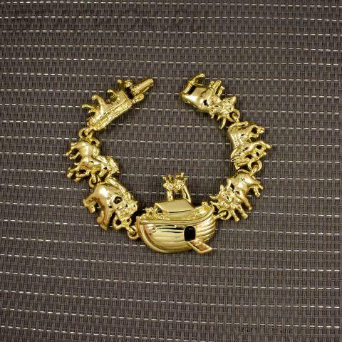 """Браслет """"Ноев ковчег"""" цвет золота (AJC США)"""