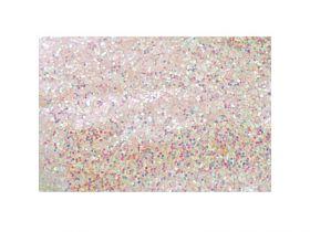 Украшение декоративное БЛЕСТКИ белые, 500г в прозрачном пакете, 1 в.