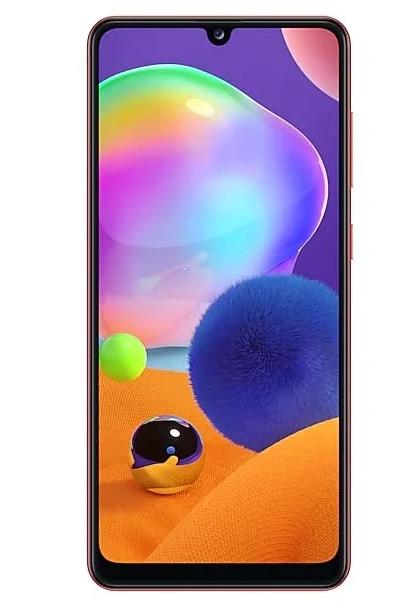Смартфон Samsung Galaxy A31 64GB red (SM-A315FZRUSER)