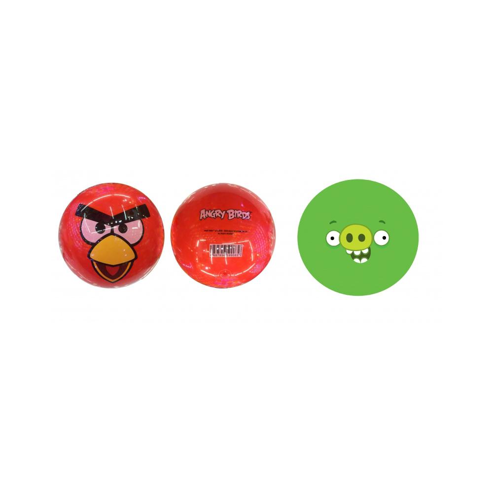 1toy Angry Birds ПВХ мяч, 23 см, 70 гр, деколь, в сетке