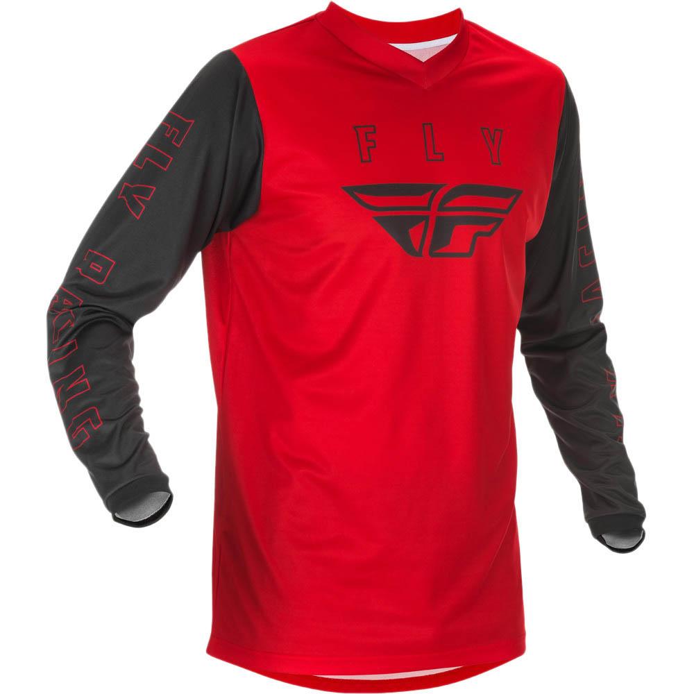 Fly Racing 2021 F-16 Red/Black джерси
