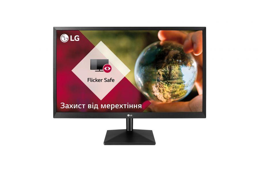 "Монитор LG 27"" 27MK430H-B IPS Black; 1920x1080, 5 мс, 250 кд/м2, HDMI, D-Sub"