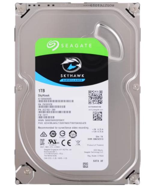 Жесткий диск Seagate SkyHawk 1 TB ST1000VX005