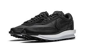 Кроссовки Nike Sacai x LDWaffle Black Nylon