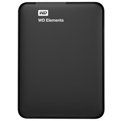 """Накопитель внешний HDD 2.5"""" USB 1.0Tb WD Elements Black (WDBUZG0010BBK-WESN)"""