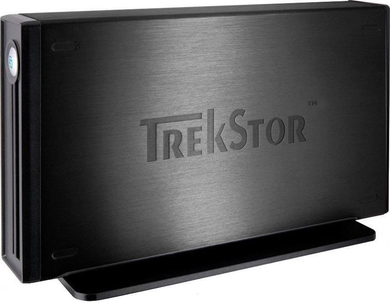 "Накопитель внешний HDD 3.5"" USB  500GB TrekStor DataStation maxi Light Black (TS35-500MLXB) Refurbished"