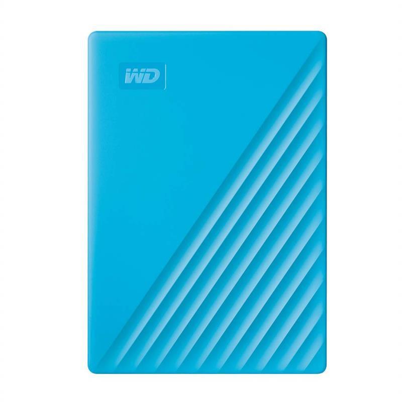 "Накопитель внешний HDD 2.5"" USB 2.0TB WD My Passport Blue (WDBYVG0020BBL-WESN)"