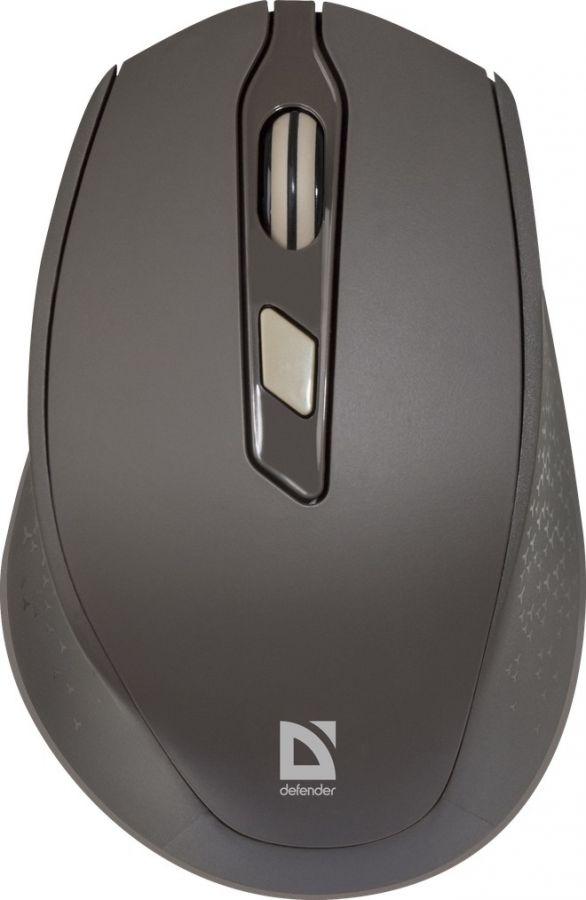 Мышь Defender Genesis MB-785 (52787) Brown USB