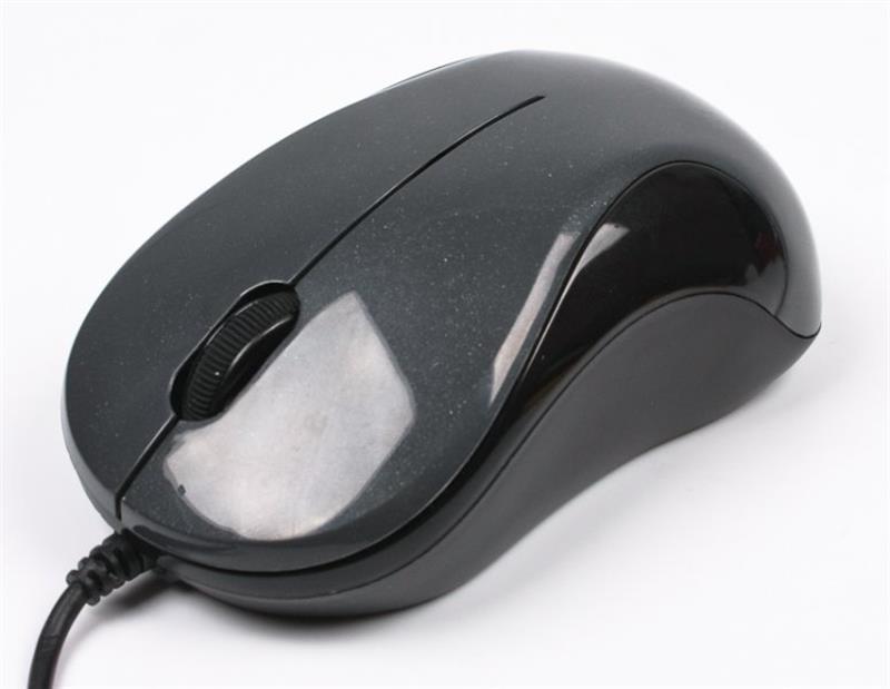 Мышь A4Tech N-321-1 Glossy Grey USB V-Track