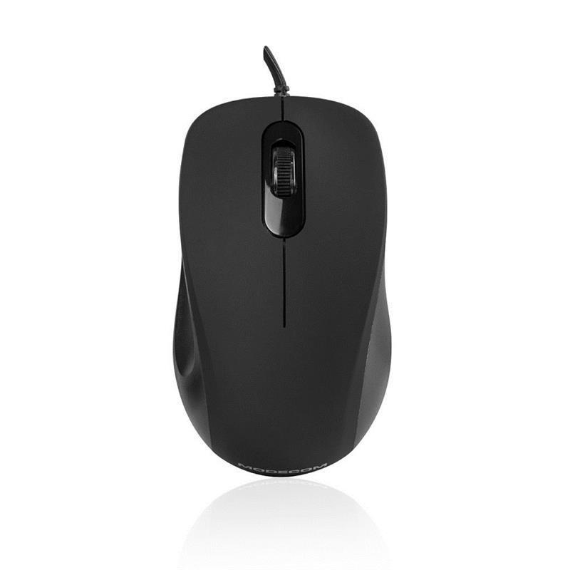 Мышь Modecom MC-M10 (M-MC-0M10-100) Black USB