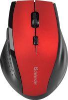 Мышь беспроводная Defender Accura MM-365 (52367) Red USB