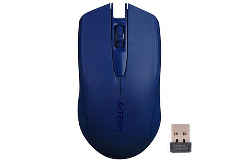 Мышь беспроводная A4Tech G3-760N Blue USB V-Track