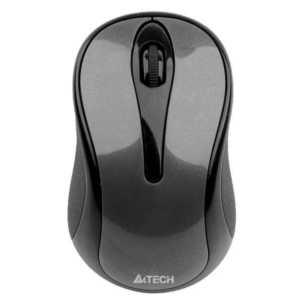 Мышь беспроводная A4Tech G3-630N Black USB Holeless