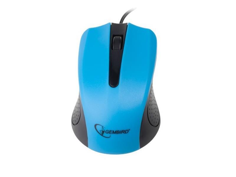 Мышь Gembird MUS-101-B синяя USB