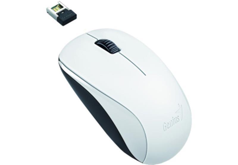 Мышь беспроводная Genius NX-7000 (31030012401) White USB
