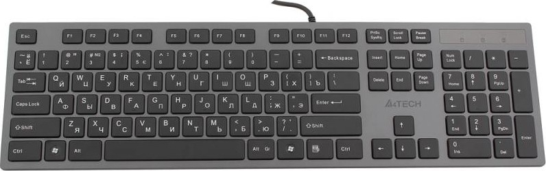 Клавиатура A4Tech KV-300H Grey/Black USB