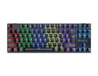Клавиатура REAL-EL M28 RGB TKL Black USB