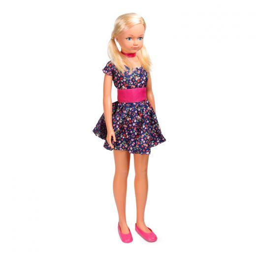Кукла Farad Любава в фиолетовом платье