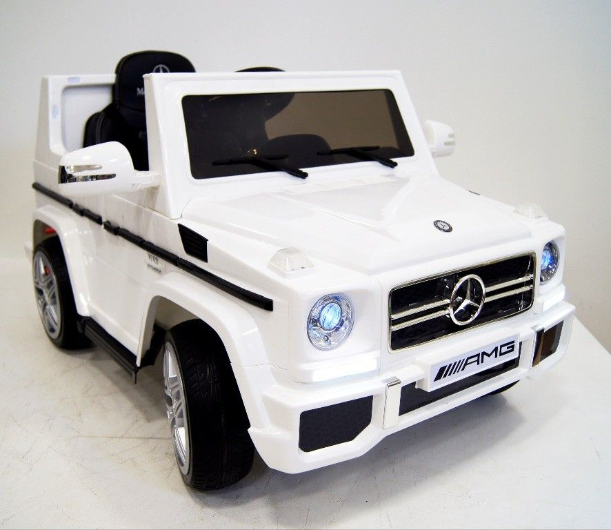 RiverToys Автомобиль Mercedes-Benz G-65 (License)
