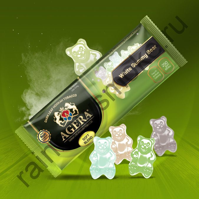 Agera Medium 250 гр - White Gummy Bear (Белые мармеладные мишки)