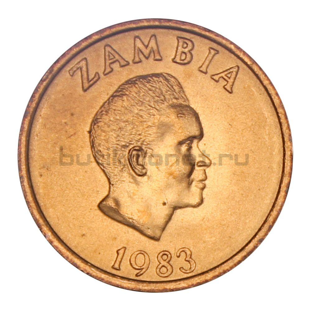 2 нгве 1983 Замбия