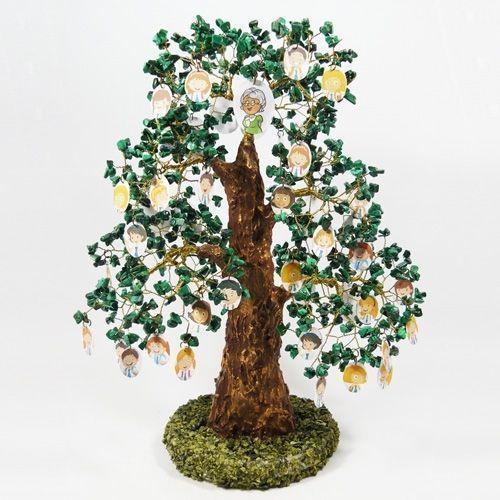 Семейное - генеалогическое дерево (древо) счастья из камня с фото