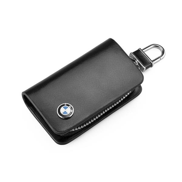 Ключница кожаная BMW