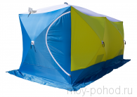 Палатка зимняя СТЭК Куб 3 ДУБЛЬ Т трехслойная