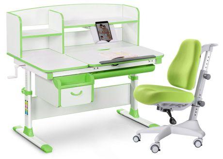 Комплект «Mealux» EVO-50: парта + кресло + надстройка + подставка для книг