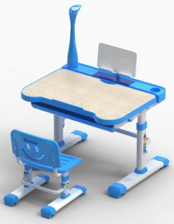 Комплект парта и стул «FunDesk» Bellissima с лампой