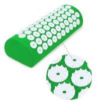 Акупунктурный массажный валик Acupressure Mat, зелёный