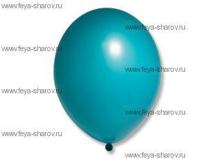 "Шар 14""(34см) Belbal Turquoise 013"