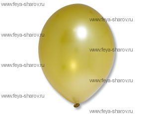 "Шар 14""(32см) Belbal Gold 060 Металлик"