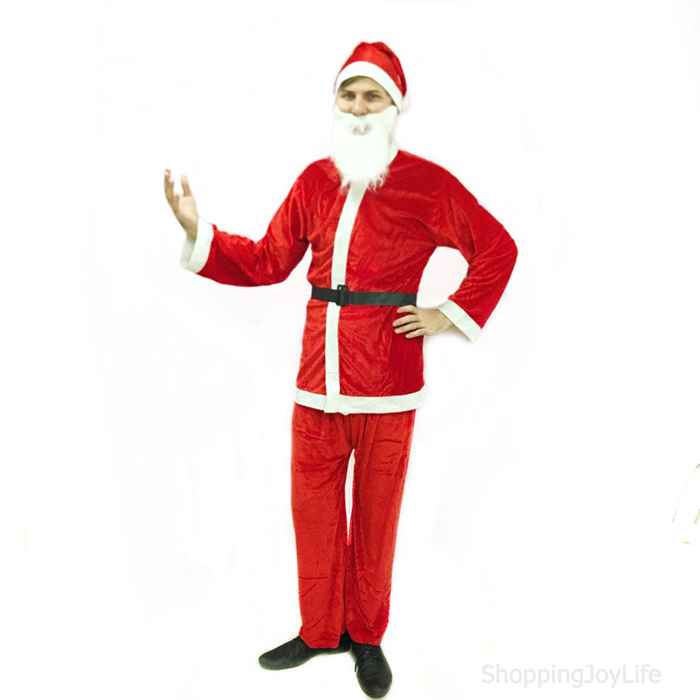 Костюм Санта Клауса Взрослый Santa Suit