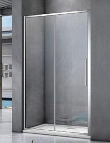 Душевая дверь BAS IDEA WTW-140-C-CH, 140, профиль хром