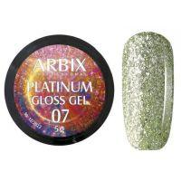 PLATINUM GLOSS GEL ARBIX 07 5 г