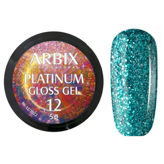 PLATINUM GLOSS GEL ARBIX 12 5 г