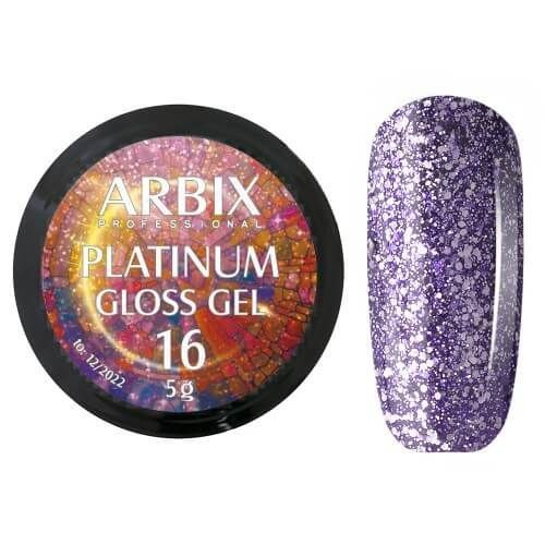 PLATINUM GLOSS GEL ARBIX 16 5 г